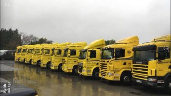 Sligo haulage Lorries