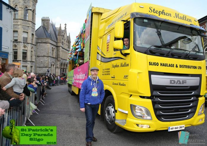 Sligo haulage St patricks day