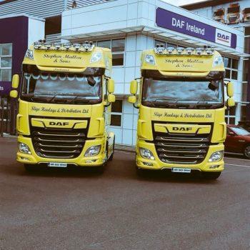 Sligo haulage New Fleet